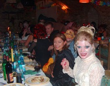 holiday in romania 2020 halloween party